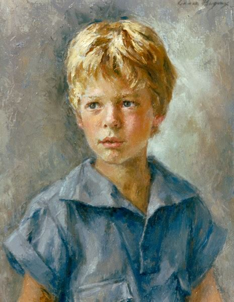 painting boy world of portrait painting