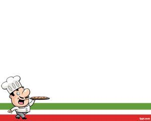 italian powerpoint templates italian chef ppt