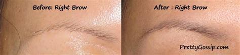 eyebrow tattoo before and after bald spot eyebrows images