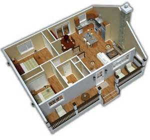 Google Floorplanner planos 3d casas peque 241 as imagui