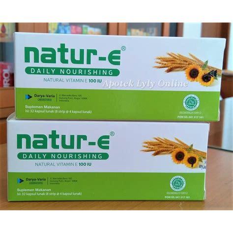 Natur E 100 Iu Isi 32 Kapsul by Natur E Box 32 Kapsul 100 Iu Vitamin Kulit Shopee Indonesia