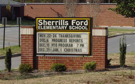 Sherrills Ford Elementary by What County Is Sherrills Ford Nc In