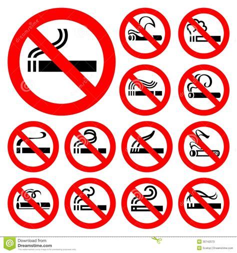 imagenes de simbolos foneticos de no fumadores s 237 mbolos rojos fotos de archivo imagen