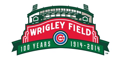 new year for cubs cubs unveil wrigley field 100th logo wgn radio 720 am