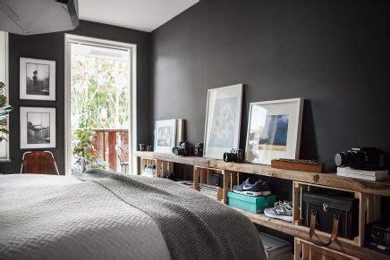 schlafzimmer mit schwarzen möbeln schlafzimmer wohnideen einrichten