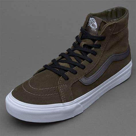 Sepatu Vans Sk8 sepatu sneakers vans womens sk8 hi slim suede tarmac