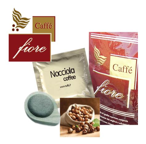 fiore coffee caff 232 fiore coffee pods flavored with hazelnut fiore store
