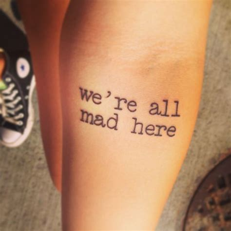 we re all mad here tattoos 67 best quot we re all mad here quot images on