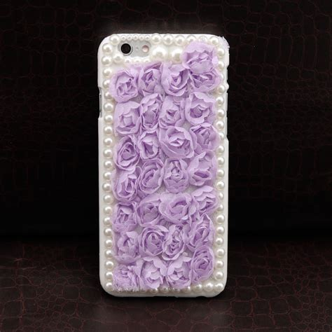 Flower Iphone 3d 1 3d flower lace iphone 6 lavender