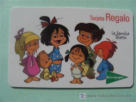 corte ingles tarjeta regalo tarjeta regalo del corte ingl 233 s la familia tel comprar