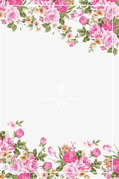 theme line vintage flower free ورد وردي الحدود وردي رسمت باليد روز ينغ و بسد حمل مجانا