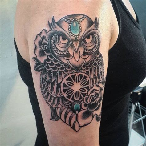 2017 trend geometric tattoo celtic owl check more at 32 owl tattoo designs ideas design trends premium
