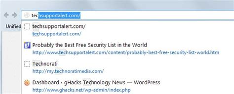 Add Search To Firefox Address Bar Mozilla To Improve Address Bar Behavior In Firefox May Impact Some Add Ons Ghacks