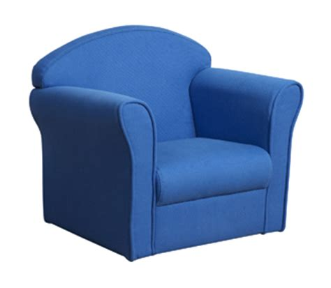 Kid Armchair by Chair Blue Seat Upholstered Armchair Kidsaw Childrens