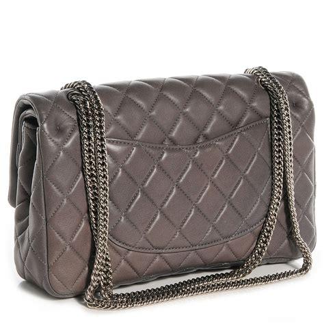 Chanel Medium Bijoux Chain Chanel Lambskin Medium Flap W Bijoux Chain Grey 73908