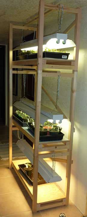 How To Grow Top Shelf by Build A Cheap Plant Grow Light Stand