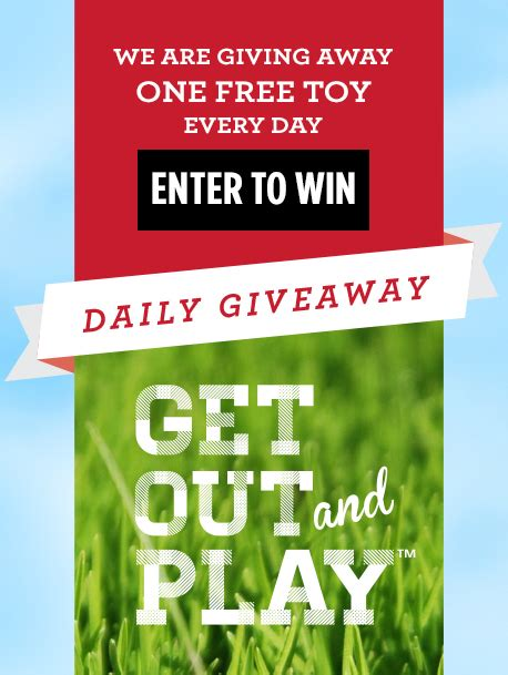 Free Daily Giveaways - radio flyer get out and play daily giveaway who said nothing in life is free