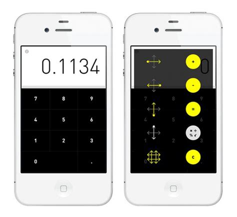 calculator iphone rechner calculator iphone app gestural arithmetic technabob