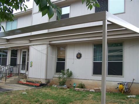 patio awning metal encino park wooden to metal patio awning carport patio