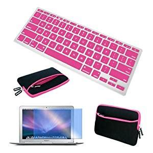 Keyboard Protector 13 3 Inch Pink skque 13 3 inch laptop notebook glove bag pink clear