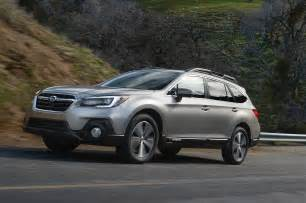 Subaru Outback Revised 2018 Subaru Outback Unveiled In New York Motor Trend