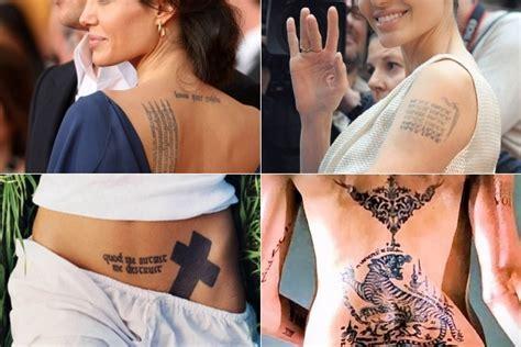 angelina jolie tattoo erklärung анджелина джоли биография фото фильмы последние