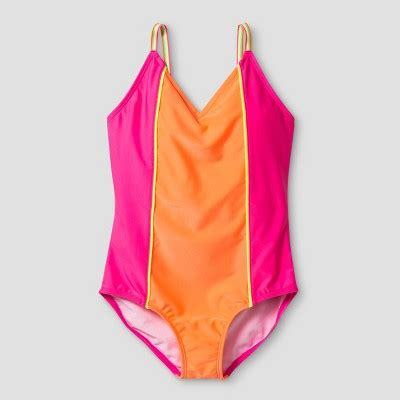 swing suits girls one piece swimsuits target