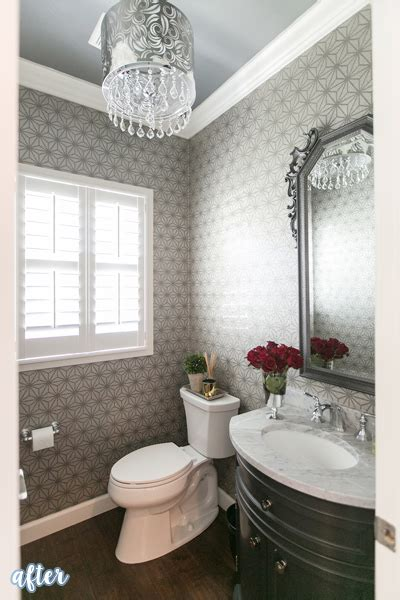 wallpapered bathrooms ideas bathrooms they re just like us better after