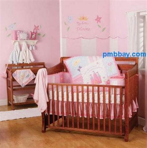 Princess Cribs Furniture by Disney Princess Crib Cot Baby Bedding Set In Pink For Sale