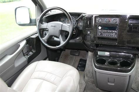 download car manuals 2005 gmc savana 3500 interior lighting purchase used 2005 gmc savana explorer high top conversion van 2wd leather interior in