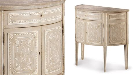 patina furniture everything borghese demi lune
