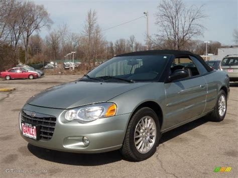 2004 chrysler sebring recalls 2004 sebring touring convertible satin jade pearl