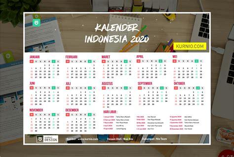kalender indonesia  vector cdr ai psd kurnio desain