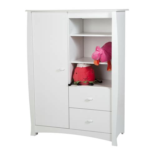 kids clothing armoire clothing armoire wardrobe for kids storage cabinet bedroom furniture pure white what
