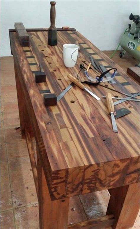 wooden workshop benches workbench carpenter s work benches pinterest i love