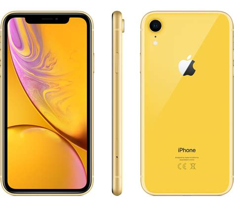 buy apple iphone xr 64 gb yellow free delivery currys