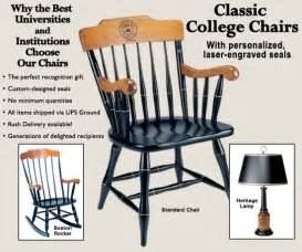 college chair college chairs captain s chair commemorative chairs