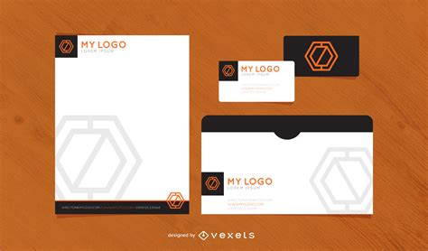 layout ready free download print ready standard stationary template vector download