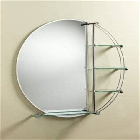 round bathroom mirror with shelf trueshopping round mirror with shelves review compare
