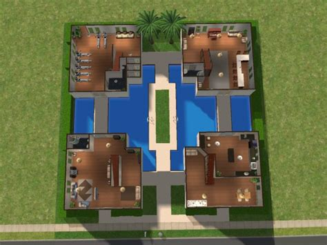 sims 2 house floor plans mod the sims 2 wilson lane