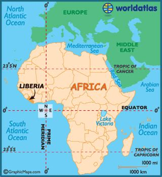 liberia on world map liberia map geography of liberia map of liberia