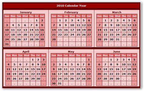Un Calendario C 243 Mo Hacer Y Descargar Un Calendario 2010 Gratis Con Fotos