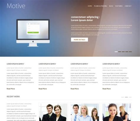 best responsive templates 55 best free responsive html5 css3 website templates
