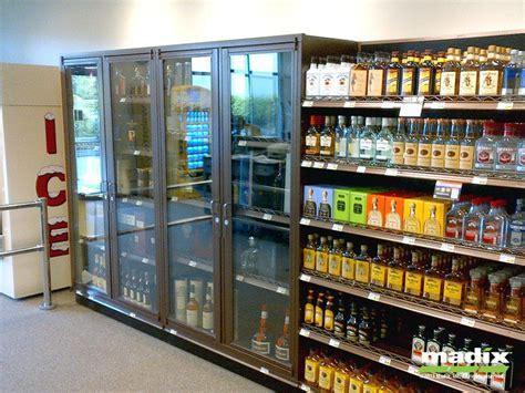 Continental Store Fixtures Inc Locking Liquor Security
