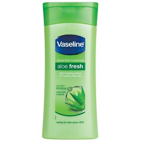 Fresh Lotion Buy Vaseline Essential Moisture Aloe Fresh Lotion