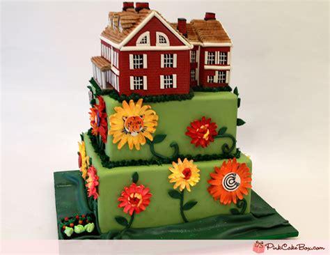 house cakes design 80th farm house birthday cake 187 birthday cakes