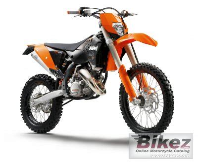 Ktm Exc 150 2009 Ktm 125 Exc Specifications And Pictures