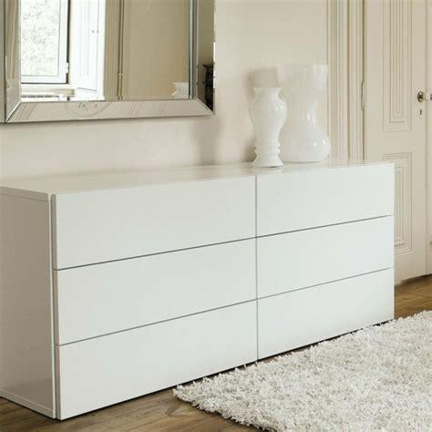 Tall Bedside Cabinets Commode Chambre 224 Coucher 233 L 233 Gante Et Fonctionnelle