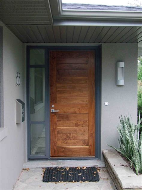 Home Design Contemporary Front Doors Are Popular Today Front Door Modern Design