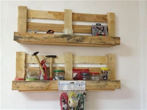Garage Shelving From Pallets 1000 Images About Pallets Garage On Pallet